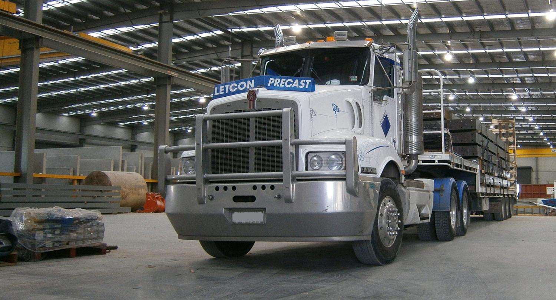Letcon Precast Systems Transport